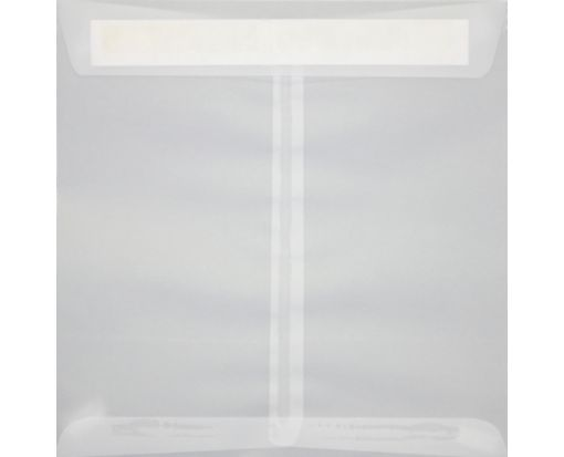 8 1/2 x 8 1/2 Square Envelopes Clear Translucent