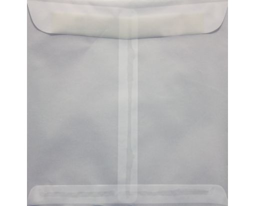 9 1/2 x 9 1/2 Square Envelopes Clear Translucent