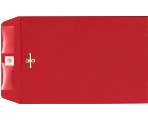 10 x 13 Clasp Envelopes Ruby Red