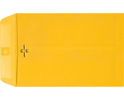 6 x 9 Clasp Envelopes Sunflower