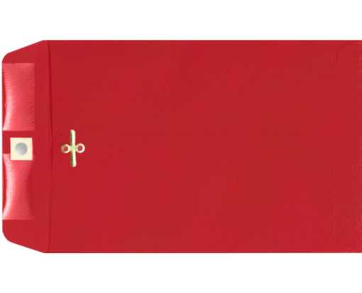 6 x 9 Clasp Envelopes Ruby Red