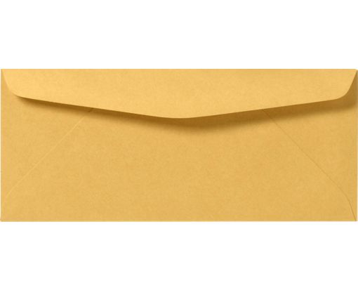 #9 Regular Envelopes (3 7/8 x 8 7/8) 24lb. Brown Kraft