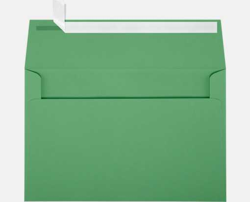 A9 Invitation Envelopes (5 3/4 x 8 3/4) Holiday Green