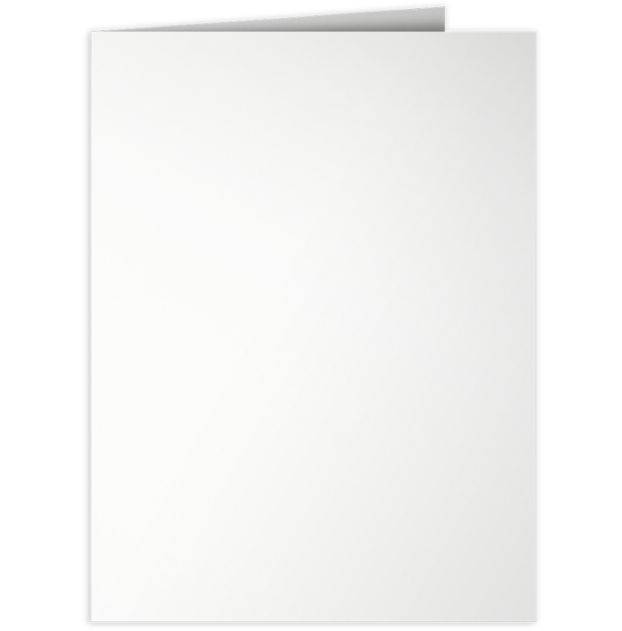 9 x 12 Presentation Folders Bright White