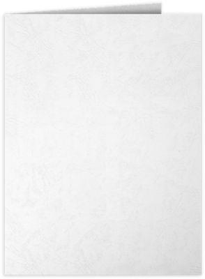 9 x 12 Presentation Folders White Marble Texture
