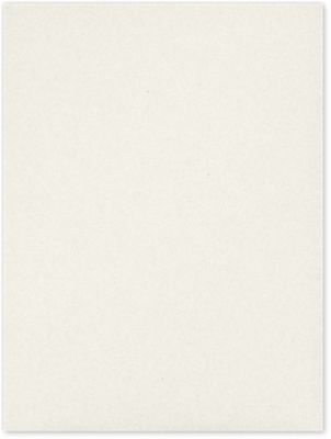 9 x 12 Presentation Folders Vanilla Bean White