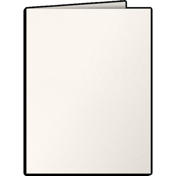 9 x 12 Presentation Folders Ecru Natural 80lb. Felt