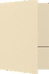 9 x 12 Presentation Folders Antique Natural