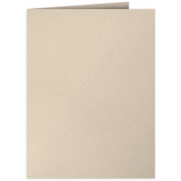 9 x 12 Presentation Folders Sandcastle Natural