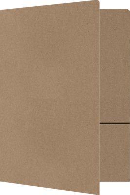 9 x 12 Presentation Folders Grocery Bag Brown