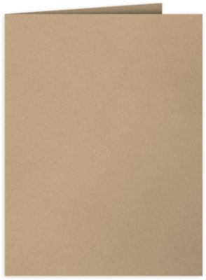 9 x 12 Presentation Folders Warm Oatmeal