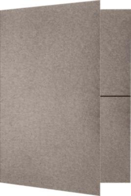 9 x 12 Presentation Folders Storm Gray