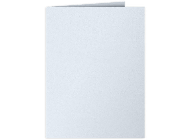 9 x 12 Presentation Folders Artic Blue
