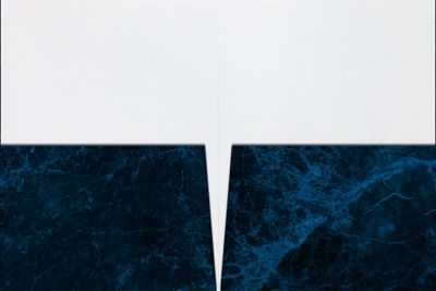 9 x 12 Presentation Folders Dark Blue Marble