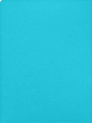 9 x 12 Presentation Folders Turquoise Blue