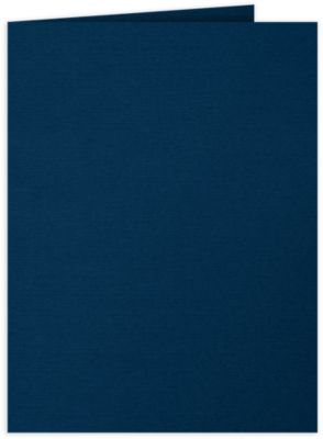 9 x 12 Presentation Folders Nautical Blue