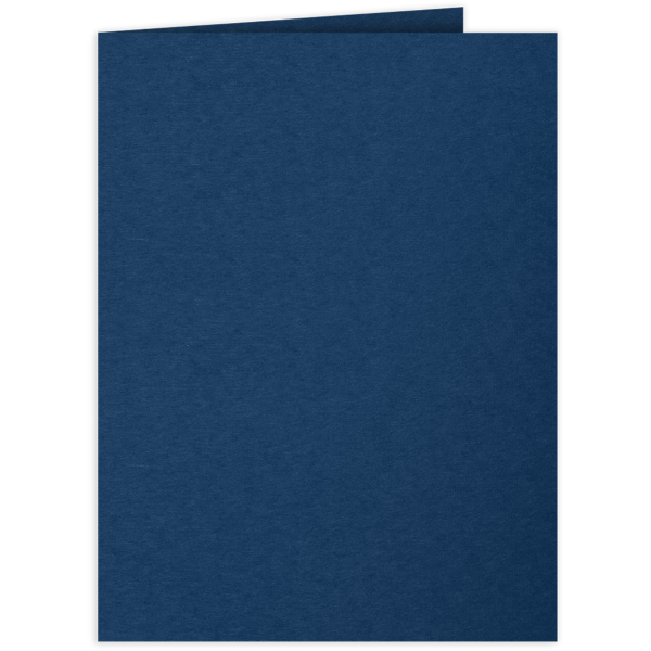 9 x 12 Presentation Folders Inkwell Blue