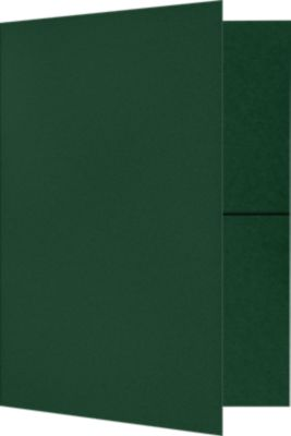 9 x 12 Presentation Folders Dark Pine Green