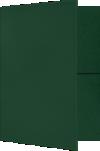 9 x 12 Presentation Folders Dark Pine Green