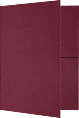 9 x 12 Presentation Folders Rosewood
