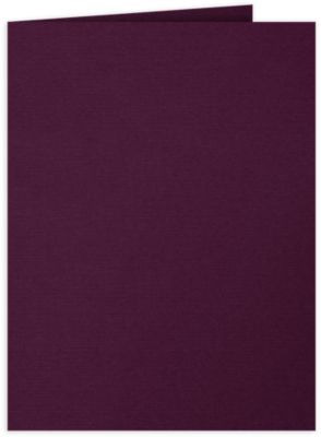 9 x 12 Presentation Folders Deep Maroon