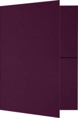 9 x 12 Presentation Folders Deep Maroon