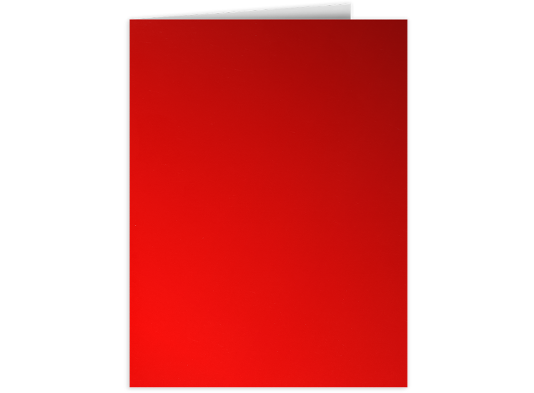 9 x 12 Presentation Folders Cherry Red