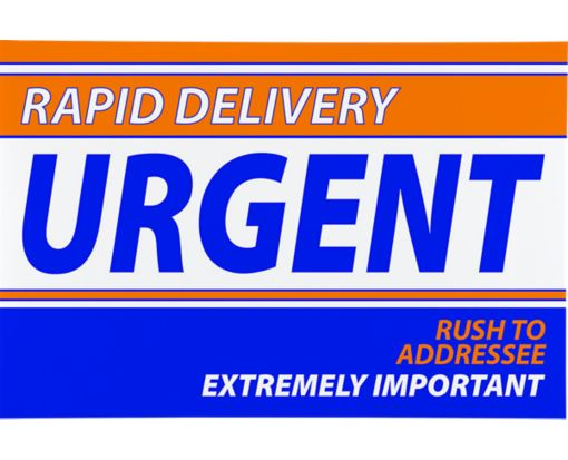 Express Mailers - 9 x 12 Rapid Delivery Express