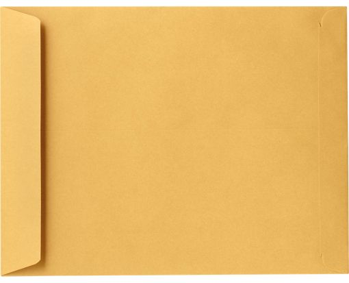 8 3/4 x 11 1/4 Open End Envelopes 28lb. Brown Kraft