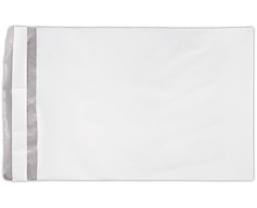 7 1/2 x 10 1/2 Poly Mailers White Poly