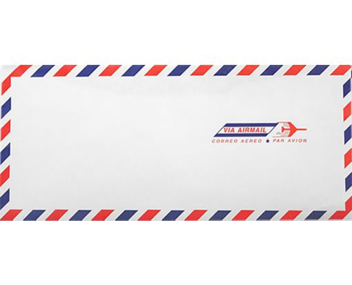 #10 Regular Envelopes (4 1/8 x 9 1/2) Airmail