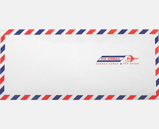 airmail white 10 envelopes regular 4 1 8 x 9 1 2 envelopes com
