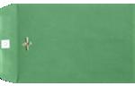 9 x 12 Clasp Envelopes Holiday Green