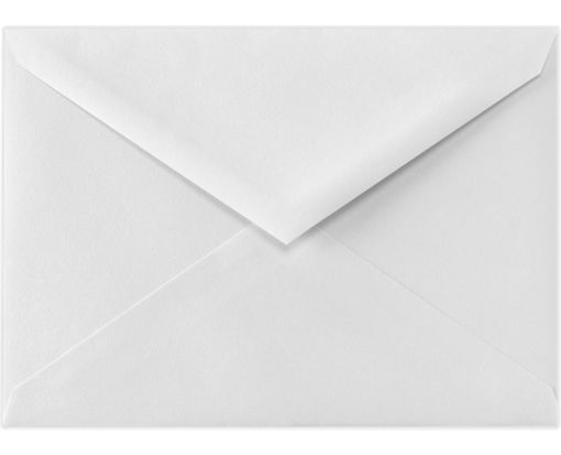 6 BAR Envelopes (4 3/4 x 6 1/2) 70lb. Bright White