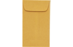 #3 Coin Envelopes 24lb. Brown Kraft