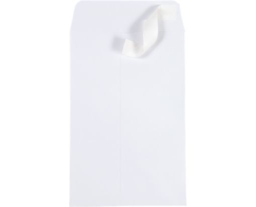 6 x 9 Open End Envelopes White w/ Peel & Seel®