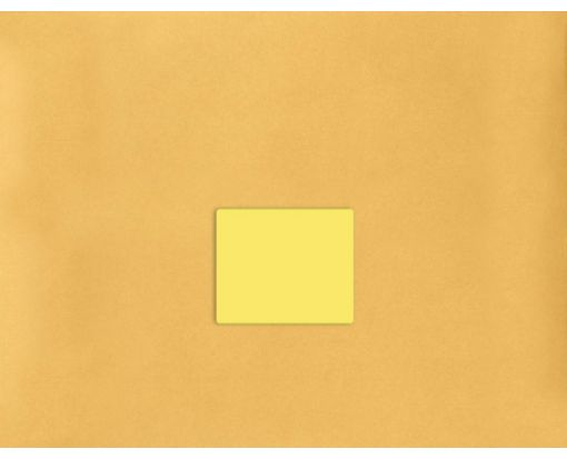 4 x 3.33 Standard Shipping Labels, 6 Per Sheet Pastel Yellow