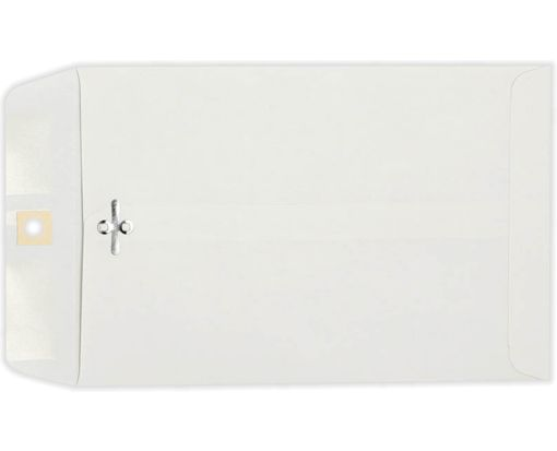 9 x 12 Clasp Envelopes 28lb. Bright White