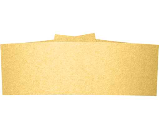 A7 Belly Band (5 1/4 x 1 7/8) Gold Metallic