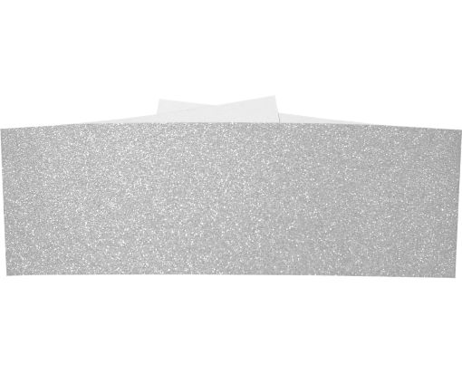 A7 Belly Bands Silver Sparkle