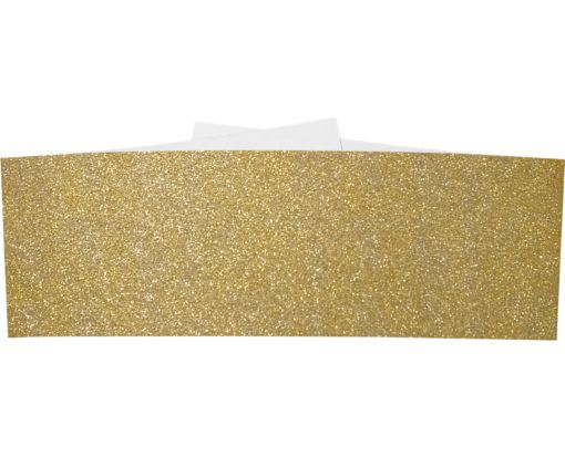 A7 Belly Bands Gold Sparkle