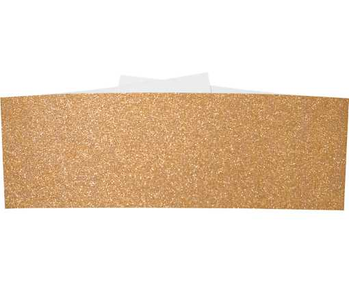 A7 Belly Bands  Rose Gold Sparkle