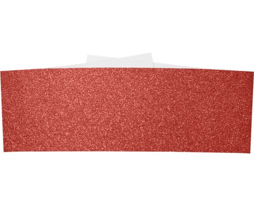 A7 Belly Band Holiday Red Sparkle