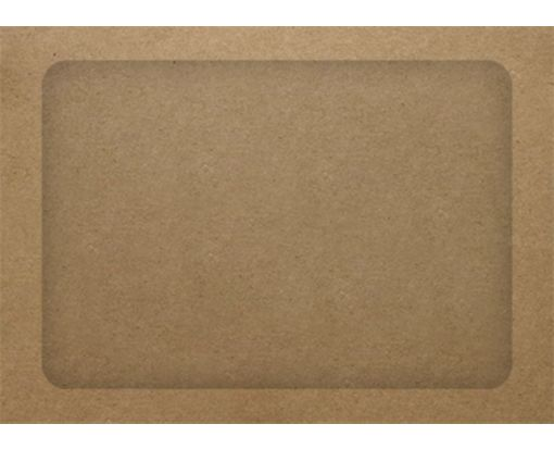 A7 Full Face Window Envelopes Grocery Bag