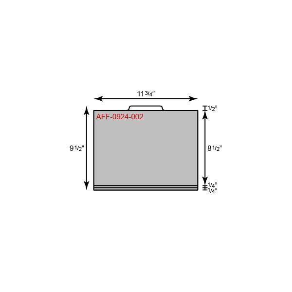 File Tab Standard Folder