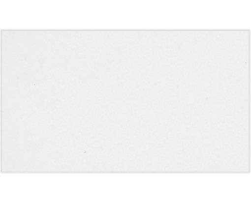 2 x 3 1/2 Flat Business Card - 110lb. White - 100% Recycled White - 100% Recycled