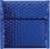 7 x 6 3/4 Glamour Bubble Mailers Blue
