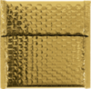 7 x 6 3/4 Glamour Bubble Mailers Gold