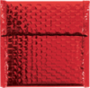 7 x 6 3/4 Glamour Bubble Mailers Red