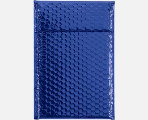 7 1/2 x 11 Glamour Bubble Mailers Blue